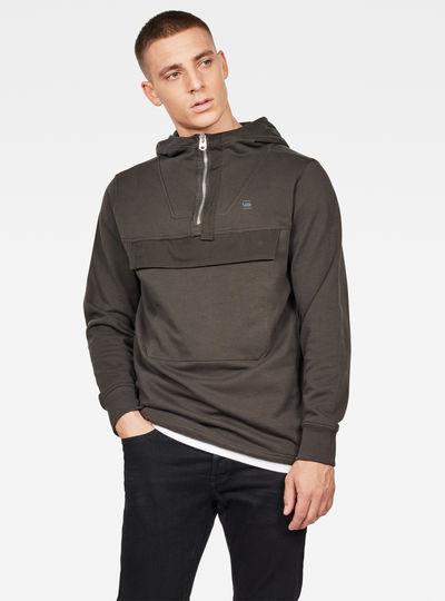 Anorak Half Zip Sweater