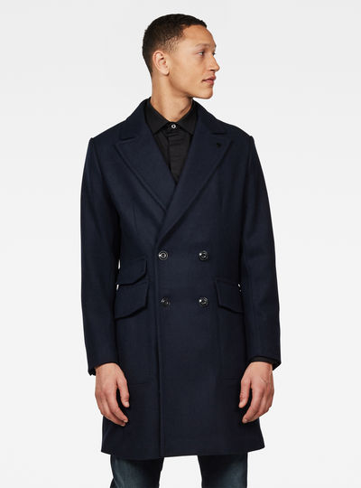 Double Breasted Paletot Coat