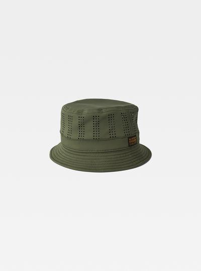 Chapeau Seau Perforated