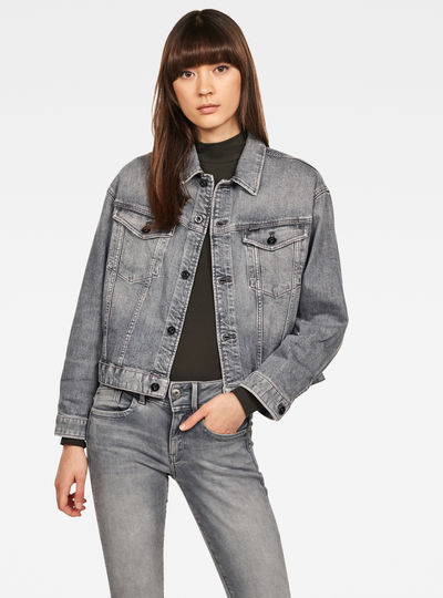 3301 Boyfriend Denim Jacke