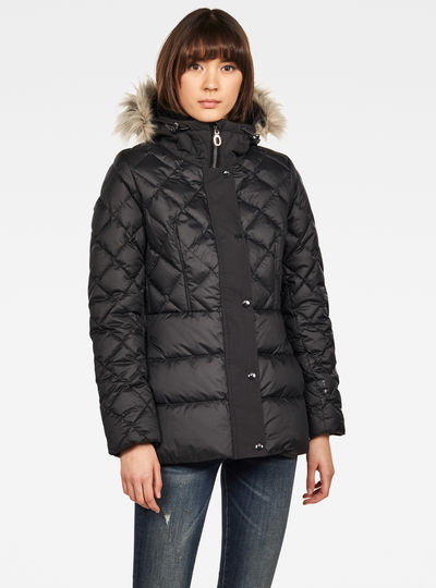 Whistler Faux Fur Down Tailored Jacket