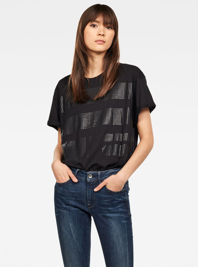 Graphic 14 Weir Boyfriend Top