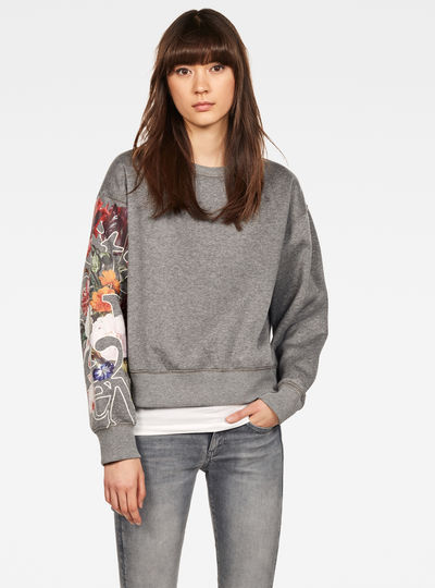 Graphic 2 Loose Pullover