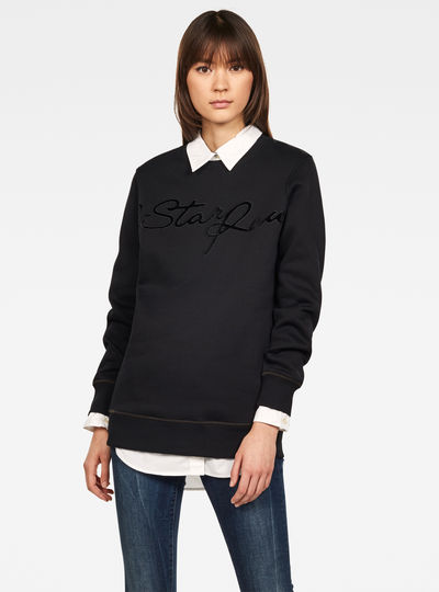 Graphic 4 Boyfriend Sweater