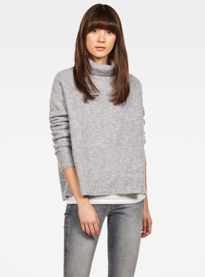 Jersey Terrapin Turtleneck Knitted