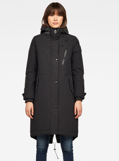New Duty Padded Fishtail Parka