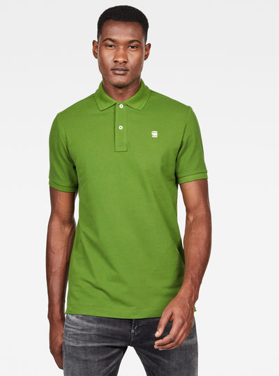 Dunda Stripe Slim Polo