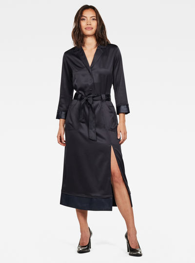 Workwear PJ Midi Dress