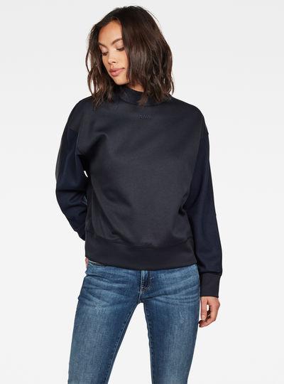 Pleat Loose Collar Sweater