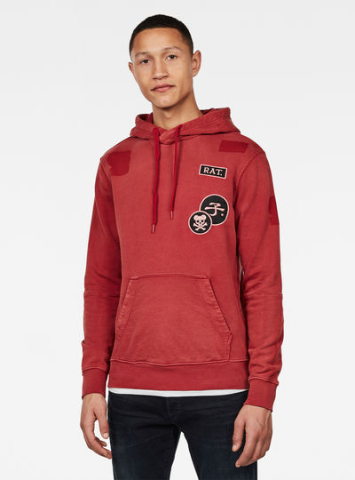 CNY Graphic Patches Hoodie