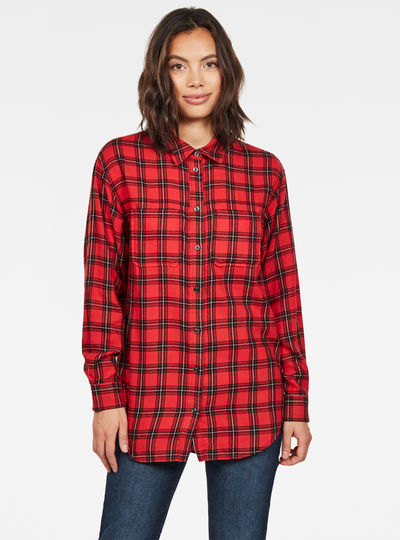 Parota Check Boyfriend Shirt