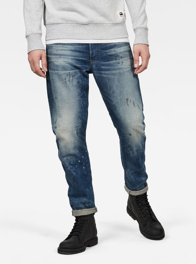 Type C 3D Straight Tapered Jeans