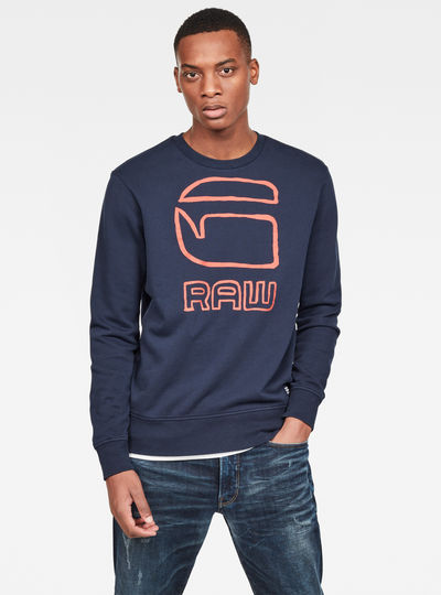 Graphic G-raw Sweater