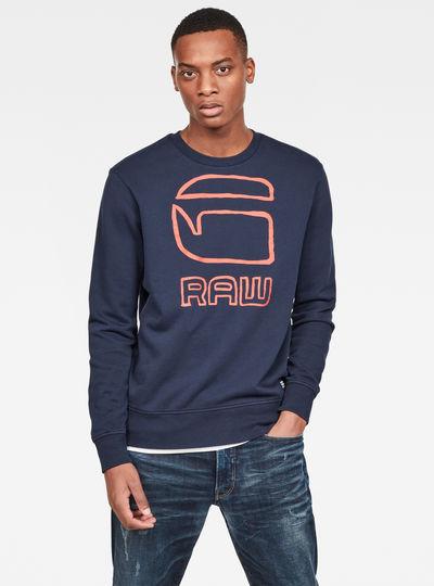Sweat Graphic G-raw