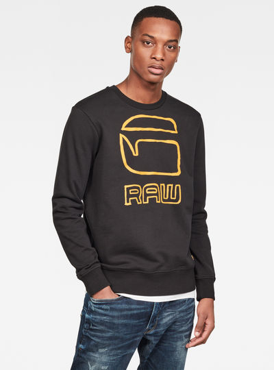 Graphic G-raw Sweater