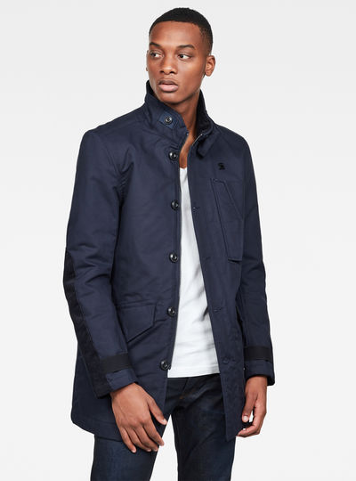 Scutar Utility Padded Trench Jacket