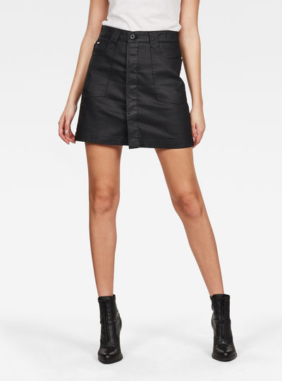 Workwear A-line Skirt