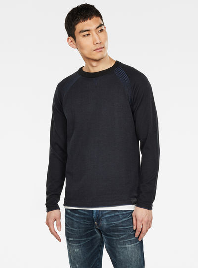 Jersey Core Straight Knitted