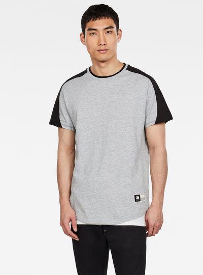 T-shirt Baseball  Colorblocked