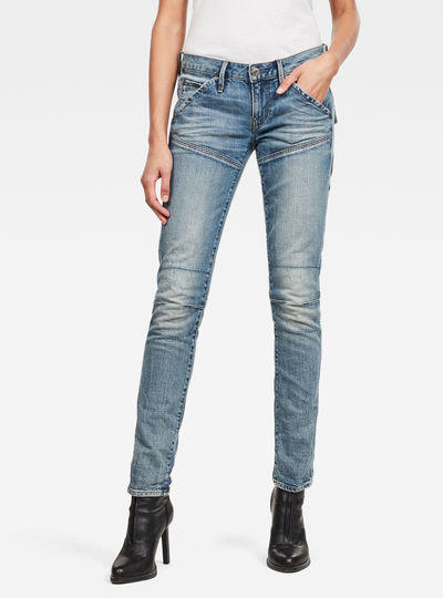 5620 Heritage Embro Tapered Jeans