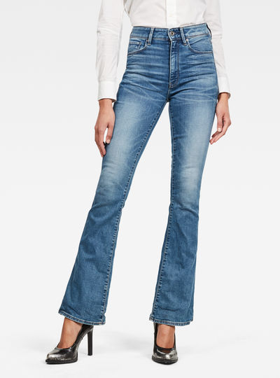 Jeans 3301 High Flare
