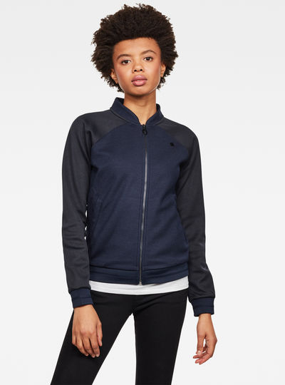 Xzula Bomber Sweat Jacket