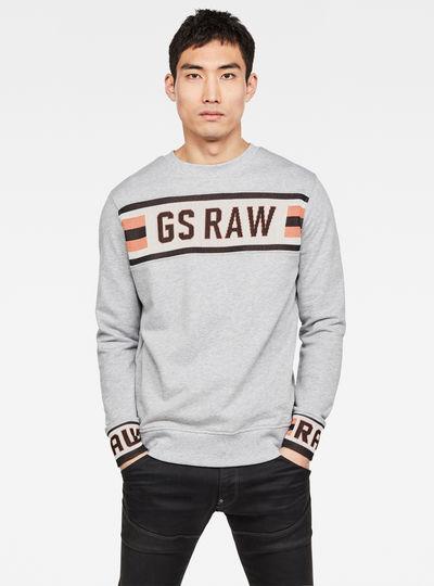Gsraw Jacquard Pullover