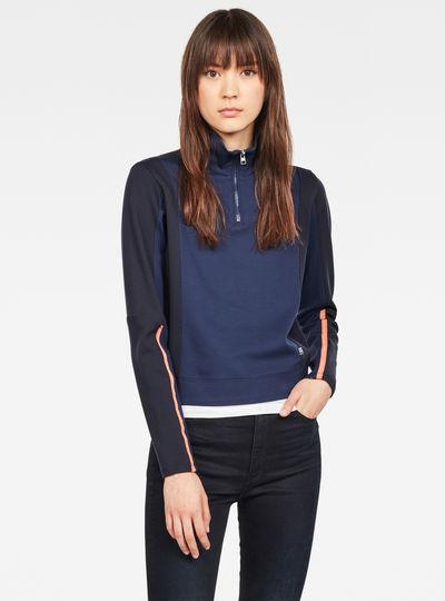 Nostelle Fyx Biker Half Zip Sweater