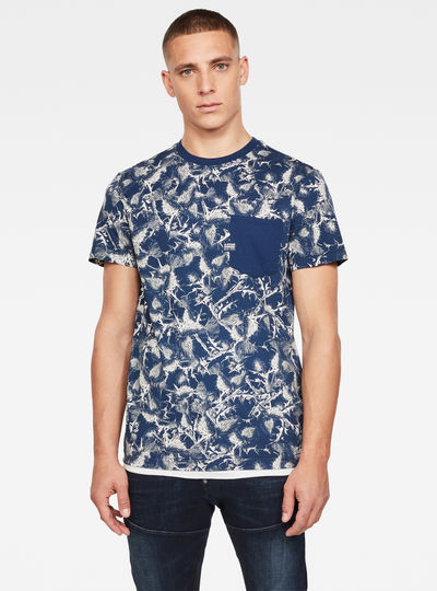 Thistle Allover Pocket T-Shirt