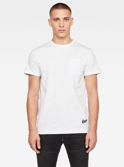 T-shirt Contrast Pocket