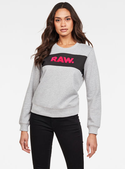 Xzula Panel Raw GR Sweatshirt