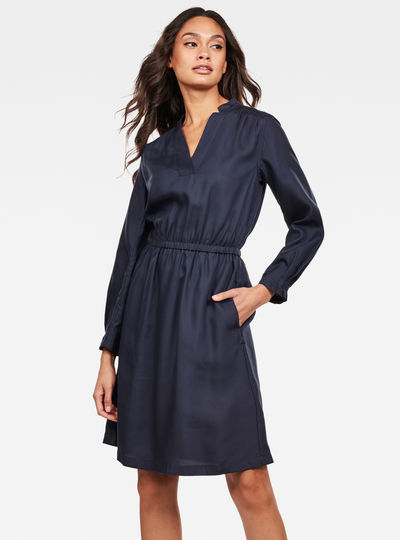 Ogee Straight Flare Dress