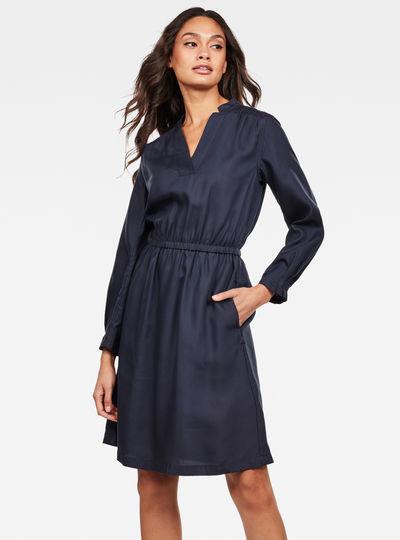 Ogee Straight Flare Kleid