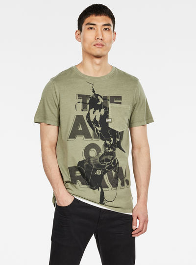 Bird Pocket GR T-Shirt