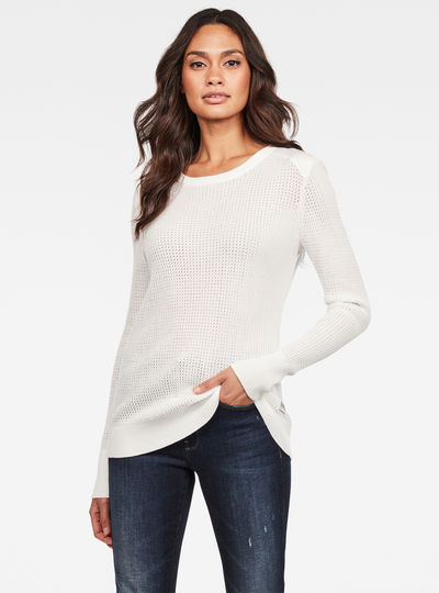 Meshi Knitted Pullover