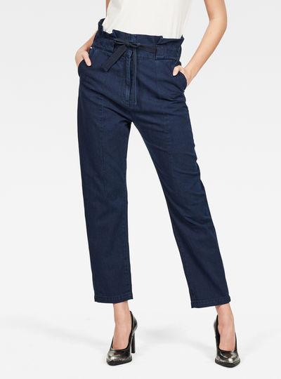 Pantalon froncé