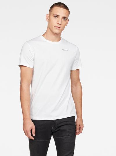 Sleeve Shield Print T-Shirt