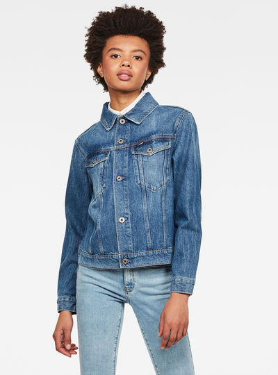 Veste 3301 Straight Denim