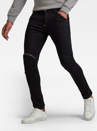 Jeans 5620 3D Zip Knee Skinny