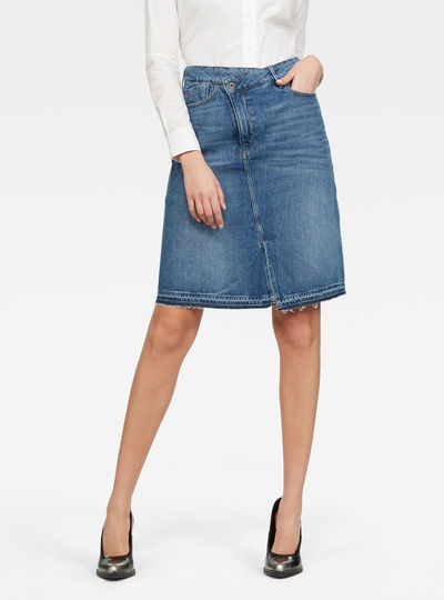 Joci Skirt Ripped edge Skirt