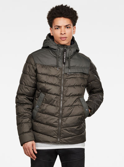 Chaqueta Attacc Quilted Hooded