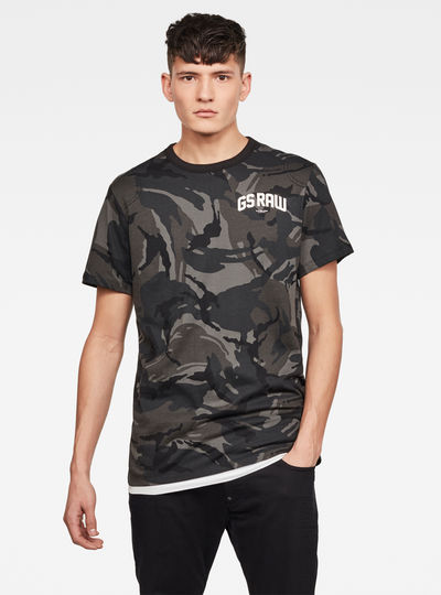 Gsraw Camo T-Shirt
