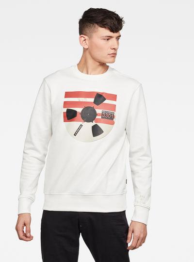 Record Reel GR Sweater