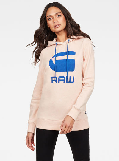 Sweat Boyfriend Diamond Line Graphic Hooded
