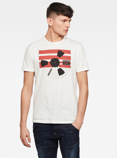 T-shirt Record Reel GR Slim