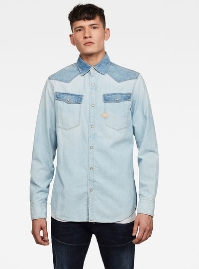 3301 PM Denim Slim Overhemd