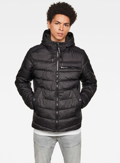 Attacc Quilted Hooded Jacke