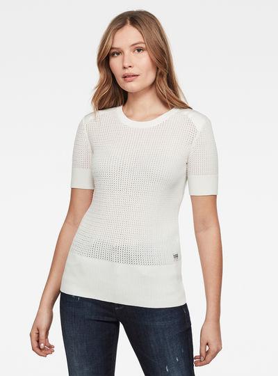 Sweat Meshi Knitted