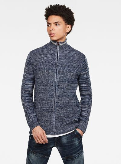 Zip Through Knitted Cardigan