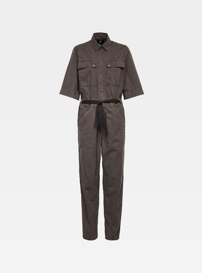 Army straight jumpsuit